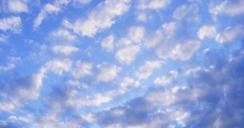 awan altocumulus