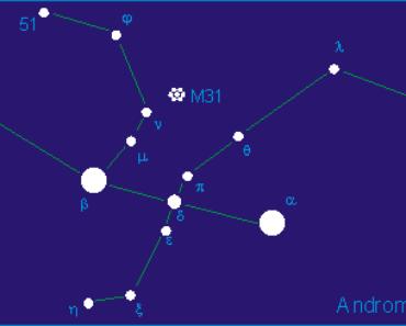 Rasi Bintang Andromeda