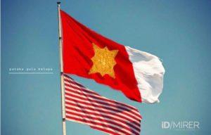 Bendera Majapahit Pataka Gula Kalapa