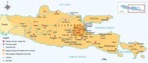 Kawasan inti Kerajaan Majapahit